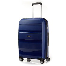 American Tourister Bon Air DLX Spinner 66 EXP TSA -Midnight Navy