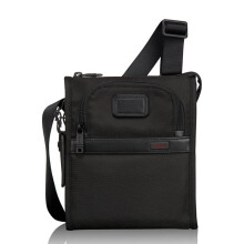 TUMI Alpha 2 Pocket Bag Small Black [22110D2]