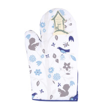 ARNOLD CARDEN Oven Mitts Bird Tree Right Side - Blue 19x32cm