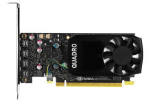 Leadtek Nvidia Quadro P600 Graphic Card - Hitam