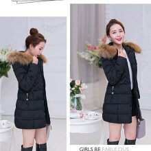 BESSKY Fashion Winter Warm Womens Long Jacket Cotton Coat Parka Lammy Thicker Outwear_