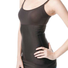 MAMAWAY Recovery Nursing Shaper Low Round Neck - Expresso