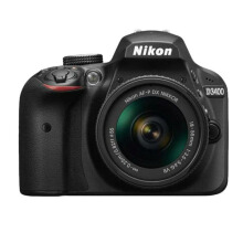 Nikon D3400 AF-P Kit 18-55mm Black