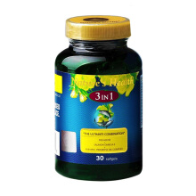 NATURE'S HEALTH Squalene + Omega + EPO 3 In 1 30 Softgels