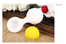 Egg Shape Silicone Tea Infuser Strainer Filter