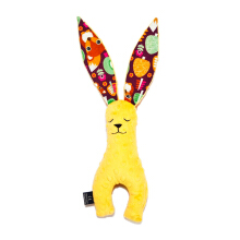 LA MILLOU Minky Bunny Doll Big - Fox Mango Yellow BN02S