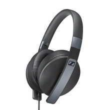 SENNHEISER HD 4.20s Headphones Over Ear with mic - Black