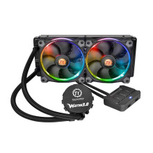THERMALTAKE Water 3.0 240 Riing RGB 120*2