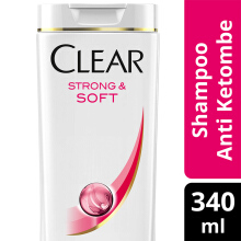 CLEAR Shampoo Strong & Soft 340ml