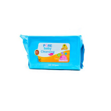 PURE BABY Cleansing Wipes Lemon Bogof 2 Pax 60's
