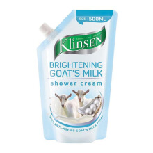 KLINSEN Shower Cream Brightening Goat's Milk Refill 500ml