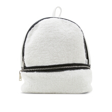 NEW COLLECTION Minimalistic modern backpack - White