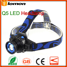 Lomon Zoom LED headlamp Headlight High Power Super Bright LED Head Torch Flashlight 18650 Rechargeable + Charger Powerful Head Light