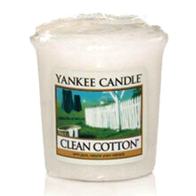 YANKEE CANDLE Votive - Clean Cotton - 49gr