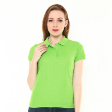 STYLEBASICS Ladies Basic Polo Shirt - Lime Green