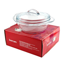 BORCAM Casserole Round With Maestro Lid 59433 1,5 Ltr