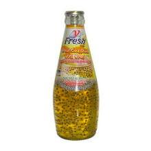 V.FRESH Basil Seed W.Honey 290ml