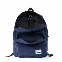 Ninenine Backpack Denim Blue