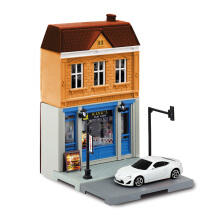 RMZ CITY 1:64 Diorama Set - Fast Food Shop