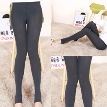 Fashion Women Warm High Waist Elastic Stretchy Slim Foot Pants Leggings B006