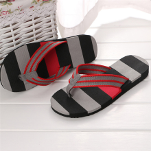 BESSKY Men Summer Shoes Mixed Colors Sandals Male Slipper Indoor Or Outdoor Flip Flops_