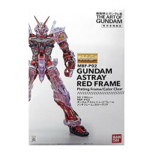 BANDAI Gundam  MG the art of Gundam Astray Red Frame Chrome Clear