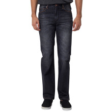 LEA Slim Regular - Black Denim