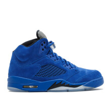 Air Jordan V Blue Suede US 9.5