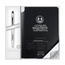 CROSS STAR WARS Stormtrooper Jotzone Journal and Click Pen Gift Set