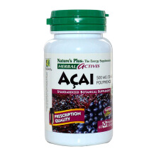 NATURE'S PLUS Acai 500mg 60pcs