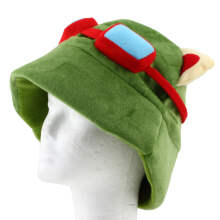LOL league of legends Teemo Cosplay Party Warm Hat Army Green New
