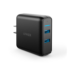 [free ongkir]ANKER Wall Charger PowerPort Speed 2 Quick Charge 3.0 Hitam - A2025111