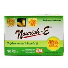 NOURISH-E 200 IU Box (10 Tablets)