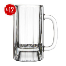 LIBBEY Paneled Mug set of 12 410ML - 5018