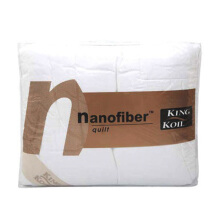 KING KOIL Accessories Nano Fiber Quilt feel - White/270X213