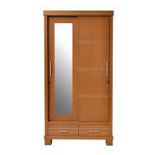 OSCAR LIVING Lemari Pakaian Hampton Sliding Door - Natural