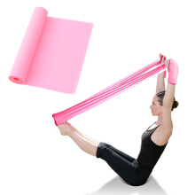 1.2M Fitness Equipment Elastic Exercise Resistance Bands Workout For Yoga