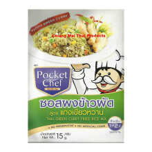 POCKET CHEF Thai Green Curry Fried Rice Mix 15gr