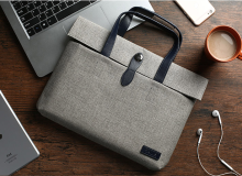 JDS S-10615 Handbag for Laptop 12inch light grey