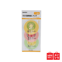 Miniso Official Fruit Series Large Hooks (3 packs) (01D6-3013MN)