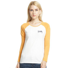 MOUTLEY Casual Girls Tee - Yellow