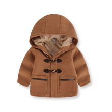 BESSKY Toddler Kids Baby Boys Autumn Winter Hooded Coat Cloak Jacket Thick Warm Clothes_