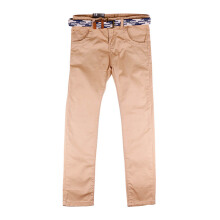 KIDDIEWEAR Khaki Pants Brown with Belt 1KB7474