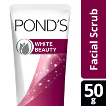 POND'S White Beauty Sun Dullness Facial Scrub 50gr
