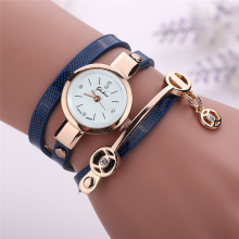 BESSKY Women Metal Strap Watch-