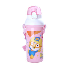PORORO School Time Water Bottle - Pink