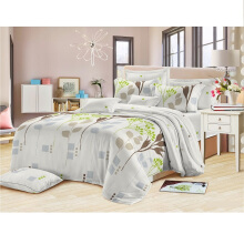 GRAPHIX Bed Cover Set Queen - Carmen / 160 x 200cm