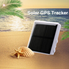 Excelvan RF-V26 Solar GPS/GSM Tracker Mini Portable GPS Locator Waterproof for Animal Pet and Outdoor Activities