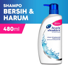 HEAD & SHOULDERS Shampoo Clean and Balanced 480 ml