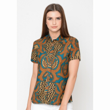 FBW Louisa Sogan Batik Shirt - 3 Warna
